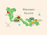 Whidbey Map