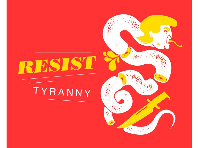 Trump SCREEN3 01 trump portrait fightthepower silkscreen vector illustration illustration