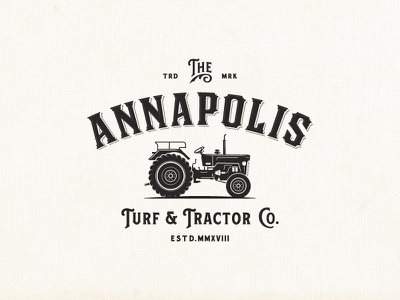 Annapolis Turf & Tractor Co. organic tractor vintage-modern farm luxury sophisticated vintage