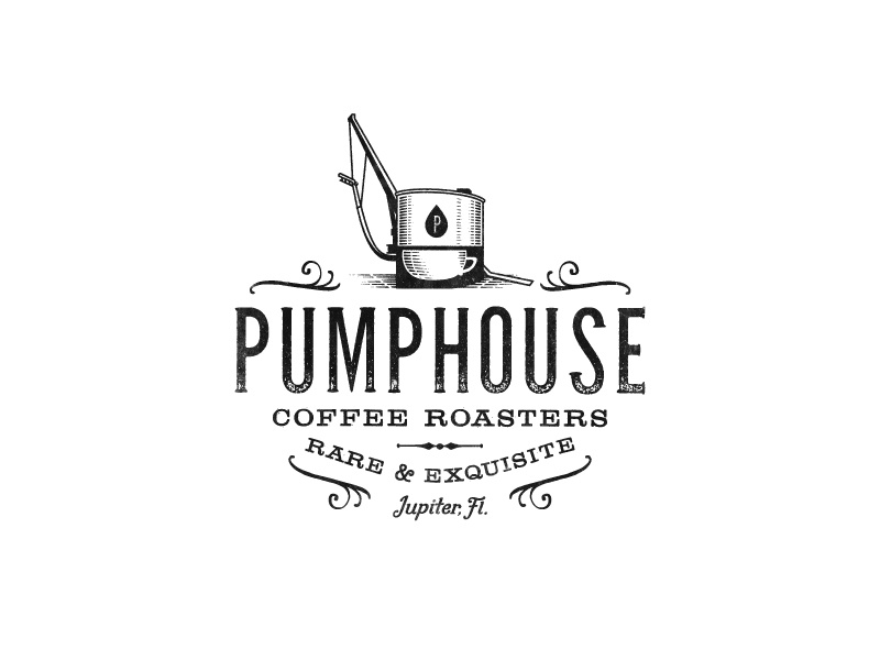 Pumphouse Coffee Roasters organic pumphouse vintage-modern coffee-roasters coffee luxury sophisticated vintage