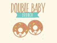 Double Baby Brunch