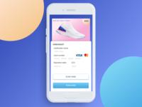 DailyUI 002/100 Credit Card Checkout