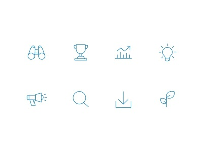 Lineweight Icons iconography monoweight line weight line icons icon