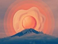 Fuji Over Easy