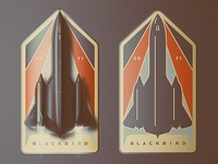SR-71 Badge Design