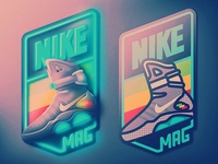 Nike Air Mag Badge