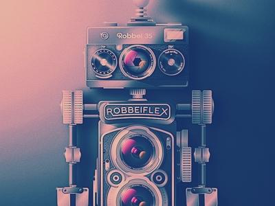 Retro Camera Bot