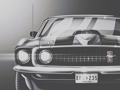 John Wick's '69 Mustang Mach 1
