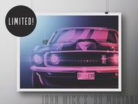 John Wick Tribute Poster