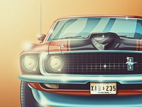 '69 Mustang Mach 1... In Color!
