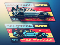 Delorean Badge Skeuo Update