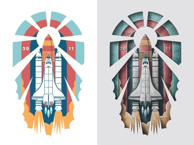 Nasa Shuttle Phone Wallpaper retro texture skeuomorphic paper art papercraft rocket launch space austin san diego wallpaper shuttle nasa