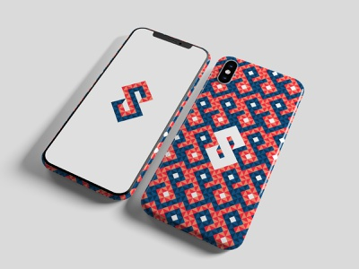S & Pattern background print modern wallpaper app phone case ux ui identity branding logomark logotype logo s word letter s texture pattern