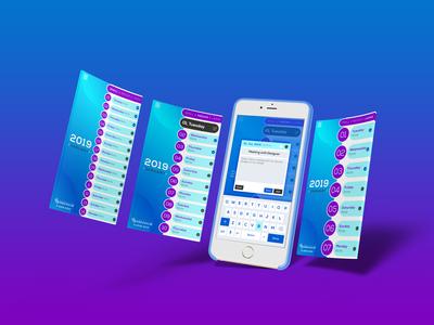 Reminder App UI Design