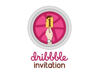Dribbble Invitation Concept