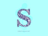 Letter S Mandala Look