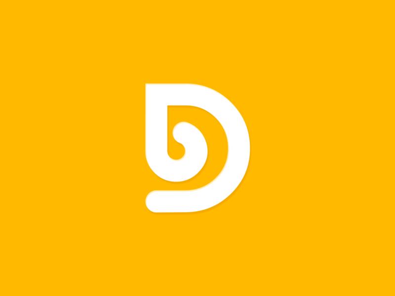 DB Minimalist Logo simple logo d monogram d letter logo db logo logotype d mark letter logo design letter logo d logo monogram design minimalist typography vector branding logo