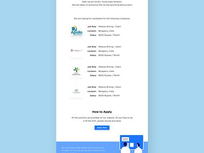 Hiristic - Emailer web ux-choreography ux ui motion interactive illustration graphic emailer