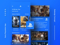 IWSJLT #1 - Sony Playstation Mobile App- Redesign