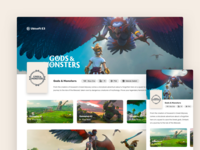 Ubisoft E3 : Gods and Monstors