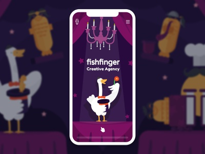 Abracadabra! 🎩✨🔮 mobile magic card show flower duck magician magic website design vector brand web animation ux ui logo design typography fun illustration graphic design