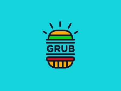 #InternationalDayOfHappiness 2d colour digital art design typography branding junk food food beef burger icon logotype logo design brand creative logo fun vector illustration graphic design