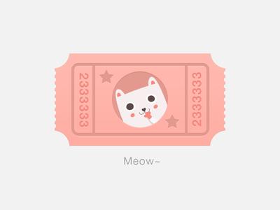 Cat ticket cat ticket