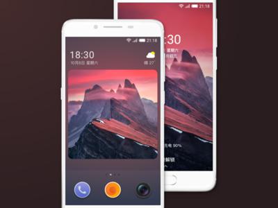 EIOS launcer os mobile system andorid