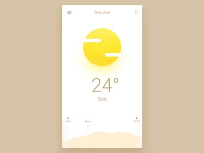 Weather App app ui weather