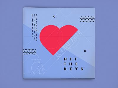 Home Studio Canvas #2 music flat design vector piano canvas line sketch geometric geometry