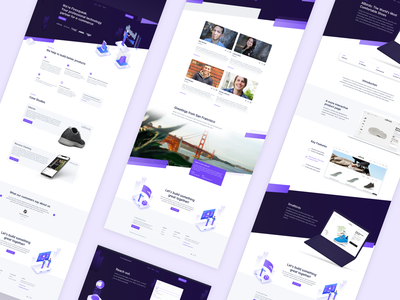 🔥 Firesqueak Overview illustration isometric ecommerce webdesign landingpage interface website ux ui
