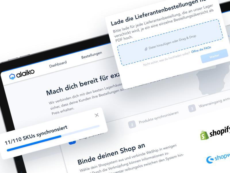 📱 Mockup interface logistics fulfillment web app dashboard uiux ui product design