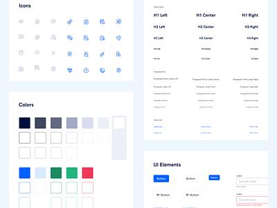 🎨 Styleguide for Vispato color scheme colors palette branding webdesign library components ui element design system colors styleguide
