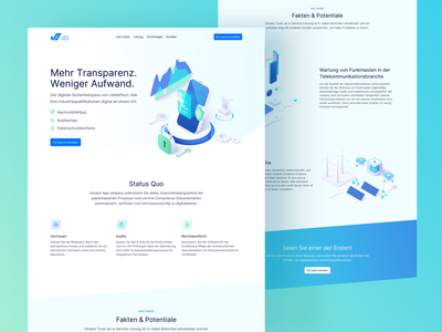 💎 Redesign for valideffect isometric illustration isometric branding startup branding redesign webdesign landingpage startup technology tech colorful website ux ui