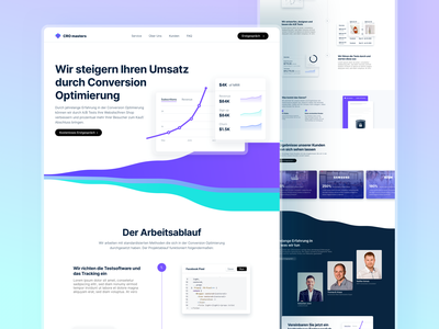 📈 Landingpage Design for CRO masters conversion rate optimisation conversion landingpage ux ui