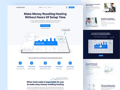 🏡 Homepage Another View saas website saas company saas conversion landingpage webdesign website