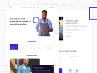 Payment Provider - Landing Page