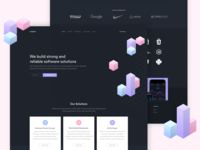 Software Agency - Landing Page