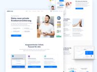 ottonova Home Page Redesign
