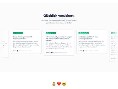 ottonova Affiliate Program emoji webdesign ui ux landing page affiliate marketing affiliate