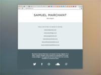 Portfolio Website V5