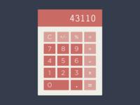 Flat Calculator