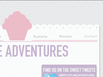 Bff Cupcake Adventures web design cupcakes bff website
