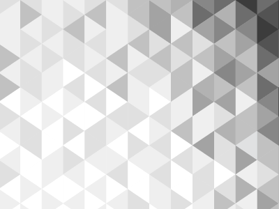 Modular Gradient triangle black and white pattern