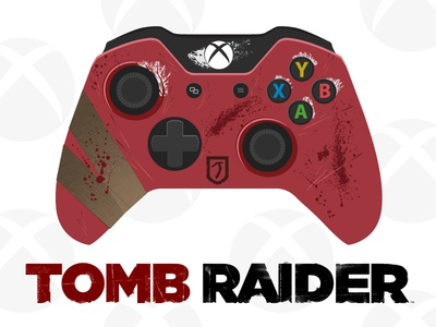 Tomb Raider Xbox One Controller