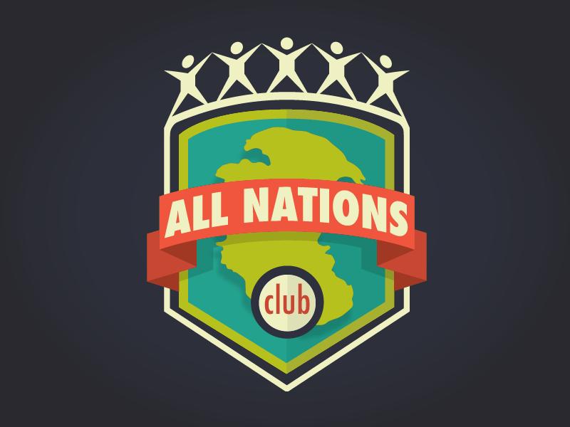 The All Nations Club Emblem