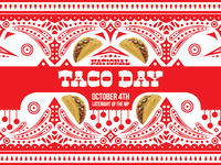 Taco Day Poster