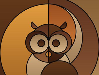 Graphic design minimal posters of animal faces, based on circles yianart.com branding illustration vector prints design graphics poster digital art art graphic design
