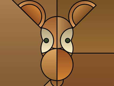 Graphic design minimal posters of animal faces, based on circles yianart.com branding illustration background vector prints design poster digital art art graphic design