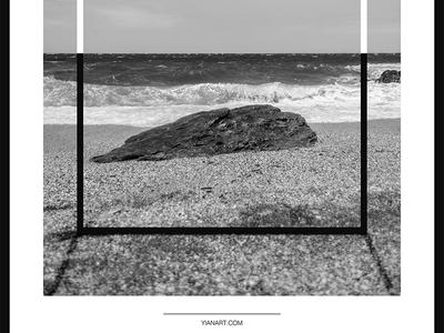 Photo Frames_2_Yianart.com graphic design digitaldesign graphics digital bw black and white photography minimal design digital art poster design poster frames